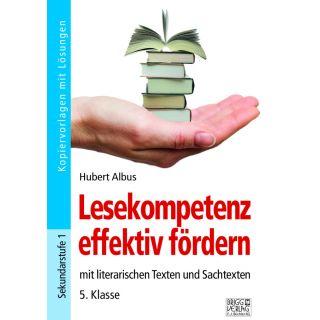 Lesekompetenz effektiv fördern 5. Klasse