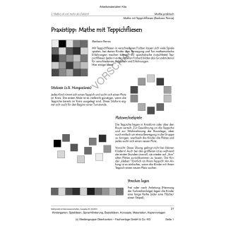 Praxistipp: Mathe mit Teppichfliesen