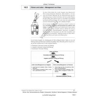 Führen und Leiten - Management von Kitas