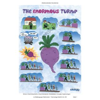 Postervorlage: The Enormous Turnip