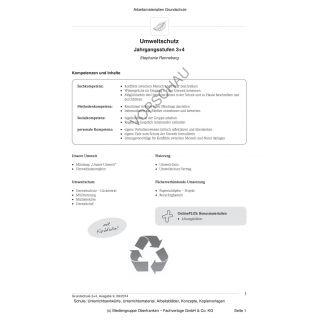 Umweltschutz (3.-4. Klasse)