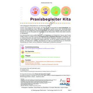Praxisbegleiter Kita - Ausgabe 1 (Persönliche Entwicklung, Teamentwicklung, Winter)