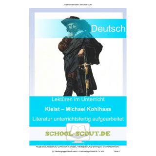 Heinrich von Kleist: Michael Kohlhaas (Lektüren im Unterricht 11.-13. Klasse)