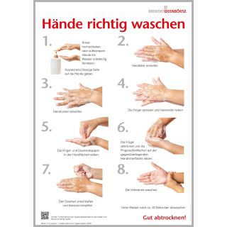 Vorschaubild: Hände richtig waschen