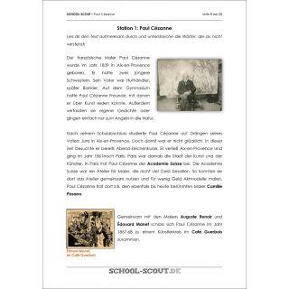 Stationenlernen: Paul Cézanne