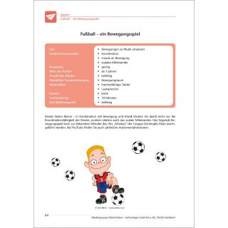 Fußball – ein Bewegungsspiel