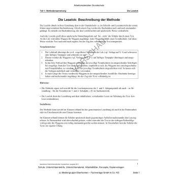 Die Leselok (1.-4. Klasse)