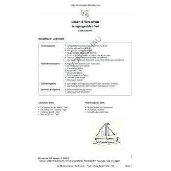 Lesen und Verstehen (3.-4. Klasse)